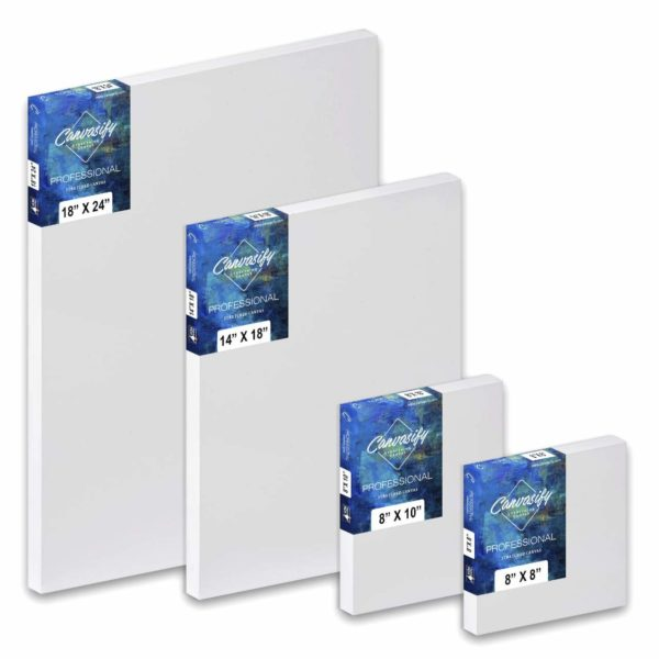 Multi-Sizes Pre Stretched Canvas