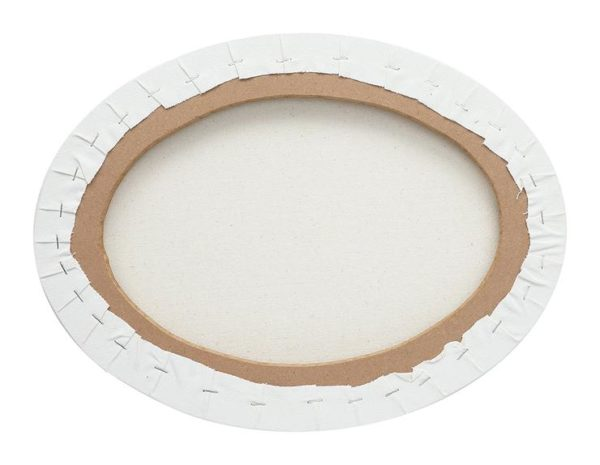 Oval Stretched Canvas