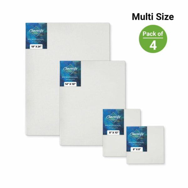 stretched canvas multi sizes