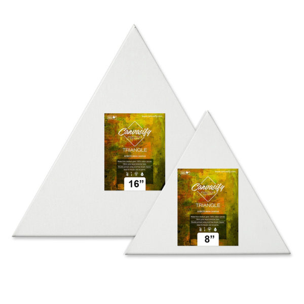 Triangle Shaped Canvas