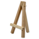 small wooden easel