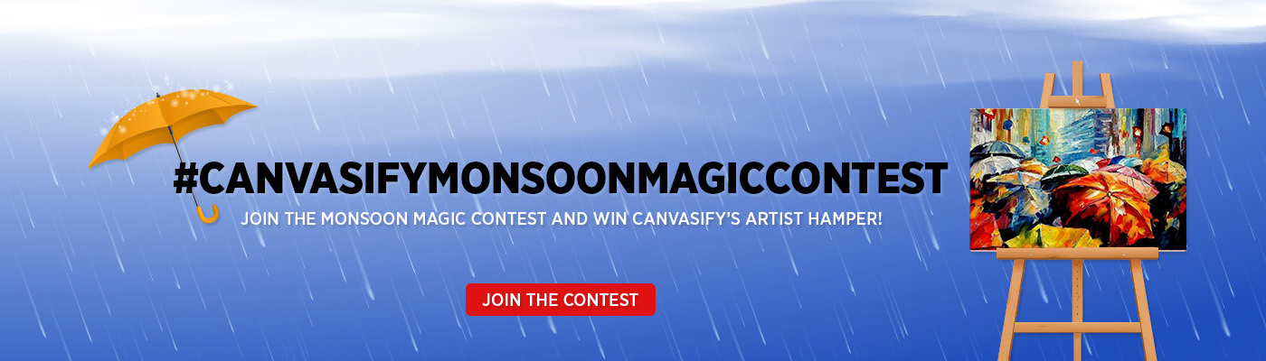 Canvasify Monsoon Magic Contest
