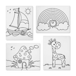 pre printed canvas boards set 2
